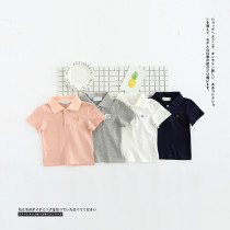 Karis Summer Short Sleeve Polo Shirt Blouse