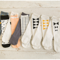 Assorted Unisex Pattern Knee High Stockings Socks