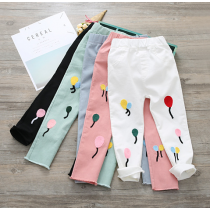 BonBon Colorful Balloon Stretchy Jeans Pants Trousers