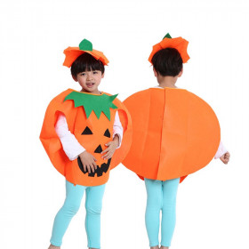 Emory Halloween Pumpkin Top with Hats Sets