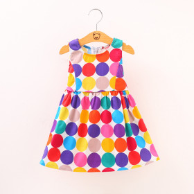 Iris Candy Colors Balloon Sleeveless Princess Dress
