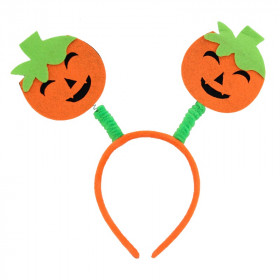 Halloween Double Pumpkin Lovely Face Headband
