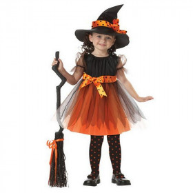 Nena Halloween Pumpkin Witch Party Dress