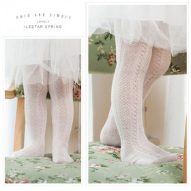 Aggie Twisted Pattern Stockings Tights Socks