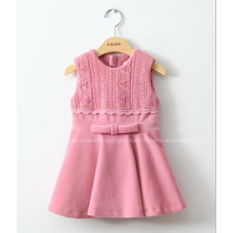 Charlotte Pink Lace Princess One Piece Dress