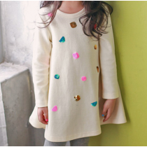 Shine Bright Knit Colourful Sequin Sweat Dress