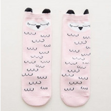 Sleepy Owl Knee High Stockings Socks